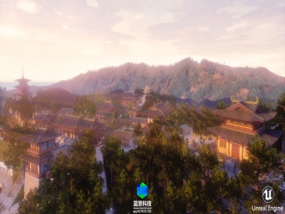 VR of 2016 year chinese old buiding project.,made by unreal engine